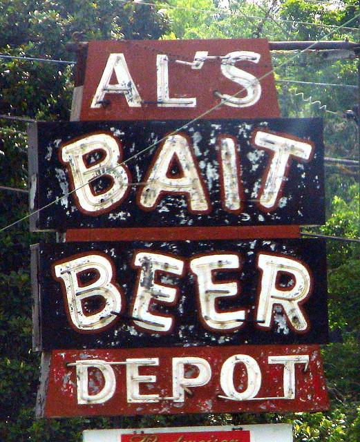 Al's Bait & Beer Depot.