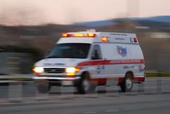 AMERICAN MEDICAL RESPONSE (AMR) AMBULANCE (Navymailman) Tags: santa light lights siren clarita