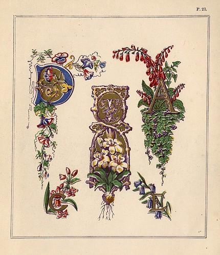 015- Medieval Alphabets and Initials 1886- F.G. Delamotte- Copyright 2006 illuminated-book.com& libros-iluminados.com