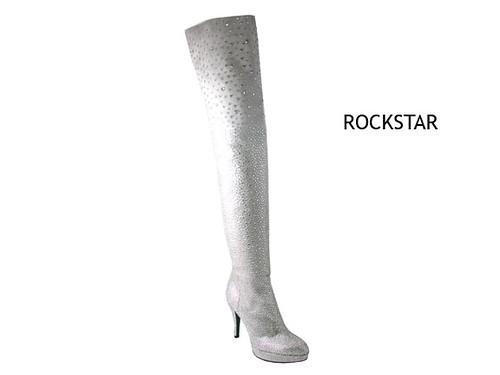 Rihannas Rockstar in weiß