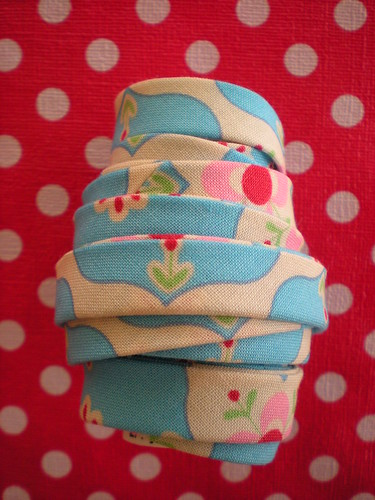 delicious handmade bias binding