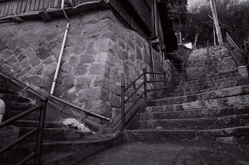 the stairs in Onomichi #1