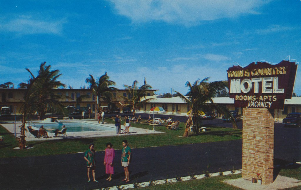 Town & Country Motel - Fort Lauderdale, Florida