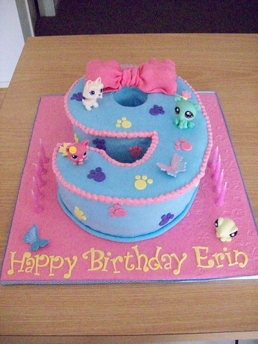 Pleasant Littlest Pet Shop Cake A Photo On Flickriver Funny Birthday Cards Online Elaedamsfinfo