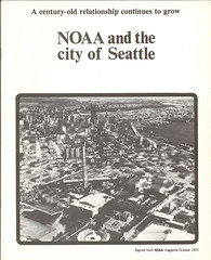 NOAA and the City of Seattle, 1974 (Seattle Municipal Archives) Tags: seattle skylines 1970s noaa aerials seattlemunicipalarchives