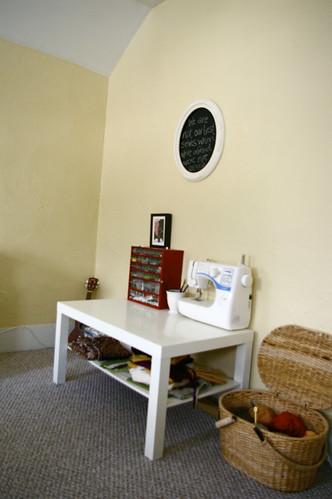 my craft corner.