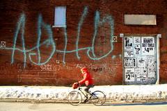 adhd x biker x faile x bst (Luna Park) Tags: nyc snow streetart ny newyork brooklyn graffiti stencil faile wise biker lunapark extinguisher brisk adhd bst