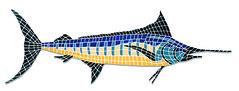 Marlin ~ Viking Pools Mosaics (Viking Pools) Tags: pool mosaics swimmingpool pools marlin pooltiles fiberglasspool vikingpools fiberglassswimmingpool ingroundswimmingpool mosaicsforpool artistryinmosaics
