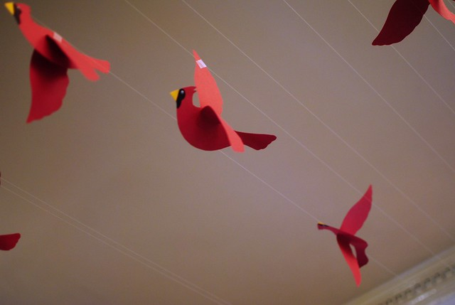 paper birds at fast & french