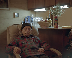 Grandpa (ari.gabel) Tags: old ohio film portraits landscapes vermont grandfather naturallight 120film 6x7 mamiyarz67 220film