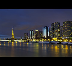 Paris by Night depuis le Pont de Grenelle (Christophe Bailleux Photography) Tags: world voyage trip travel bridge light vacation holiday paris france tourism monument beautiful seine night canon wonderful photography photo nice fantastic perfect europe foto tour place shot image lumire sightseeing eu visit location tourist best photograph journey destination sight traveling lovely visiting exploration incredible hdr touring westerneurope visite tourisme toureffeil touriste parisbynight pontdegrenelle canon550d
