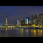 Paris by Night depuis le Pont de Grenelle