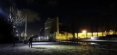 Gotham City... (v2.0) (Michael.Hivet) Tags: street city mystery night moulin lights michael canal nikon shadows batman nikkor gotham rue nuit ourcq 1224 pantin d300 mystre hivet