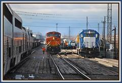 December 21, 2010 at 11.32am CST  Busy Busy Busy (Loco Steve) Tags: railroad travel train december 21 trains denver amtrak jpeg 2010 californiazephyr