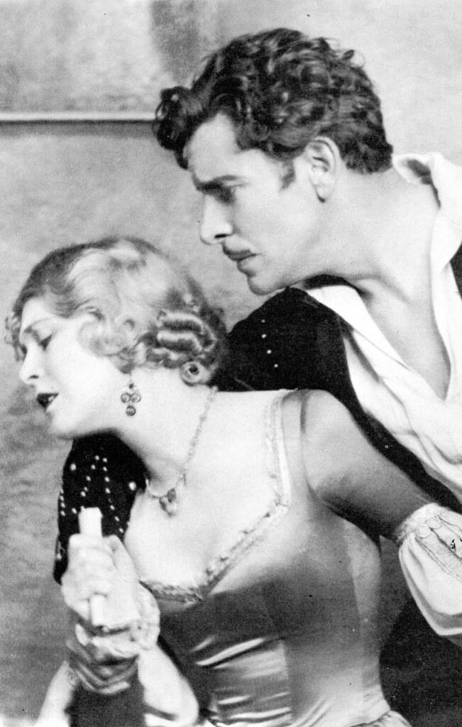 Vilma Banky and Ronald Colman