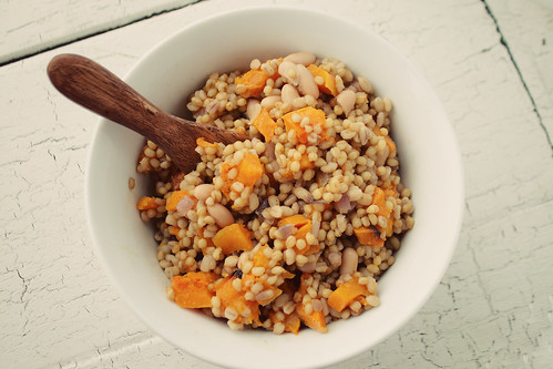 Warm Winter Wheat Berry Salad