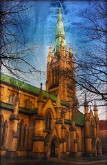 The Spire of St James (Redroom Studios) Tags: toronto church architecture gothic historic spire stjames