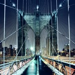 Brooklyn Bridge Walkway, New York CIty