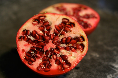 How beautiful is this pomegranate?