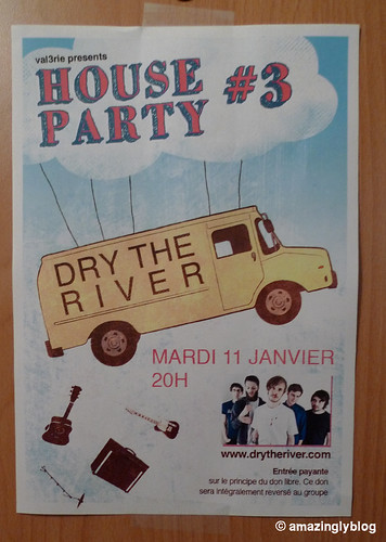 Dry The River(UK) at House Party #3 at Val3rie's home