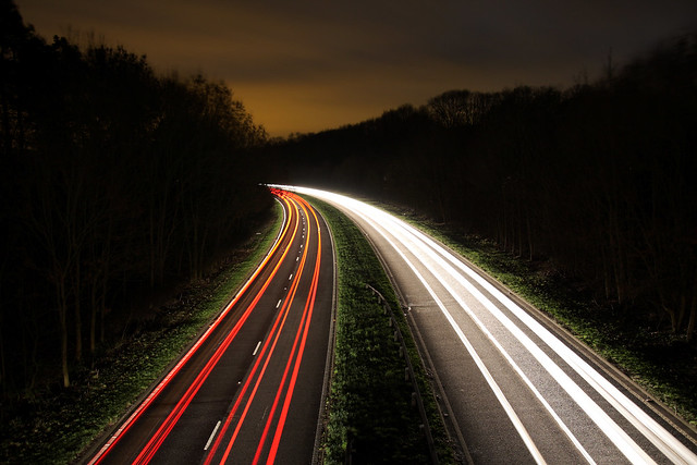 015/365 - Light trails on the A24