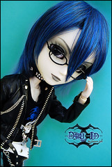 Dru Id - Taeyang Horizon (-Poison Girl-) Tags: new blue black leather hair doll dolls horizon wig druid poisongirl junplanning taeyang rewigged taeyangs taeyanghorizon