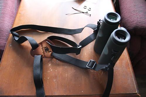 Binocular Harness & Swarovski Bins