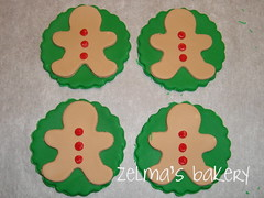 Cupcake Toppers - Gingerbread Man