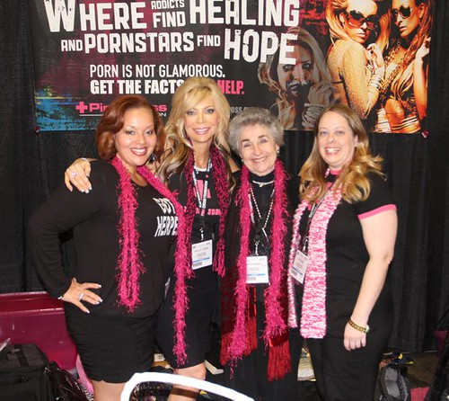 AEE Porn Convention 2011. Jan, Shelley, Judith and Jenni