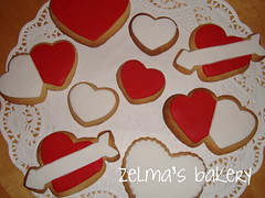 Sugar Cookies - St. Valentine Assortment