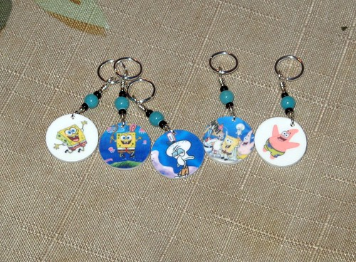 Stitch Markers from Ms. Mal ♥