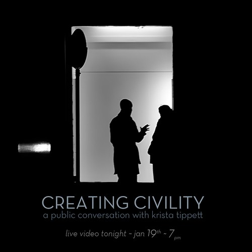 Creating Civility: A Public Conversation with Krista Tippett