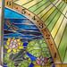 Stained Glass Sundial Construction 6 by Carmichael