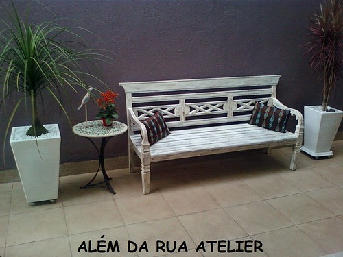 Mesa em Mosaico na casa de um cliente