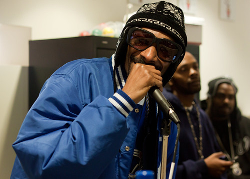 Snoop Dogg At Twitter Headquarters San Francisco