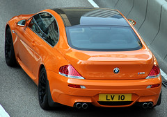 BMW | M6 | LV 10 | Admiralty | Hong Kong | China (Christian Junker | PHOTOGRAPHY) Tags: china orange car canon hongkong eos asia exotic 7d bmw m6 supercar sar hongkongisland germancar admiralty licenceplate luxurycar modifiedcar blackrims carspotting lv10 supersportscar 18135mm crazycolour worldcars