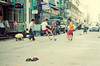 Street Kids 1 (Xiangk) Tags: street travel film sports kids 35mm fun fire focus asia minolta yangon burma soccer arcade suburbs myanmar manual srt101