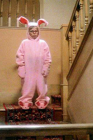 Ralphie A Christmas Story Bunny PJs