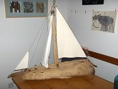 first ship (ArtNaThur) Tags: boats boat ship kunst driftwood treibholz schwemmholz driftwoodart treibholzkunst treibholzschiff treibholzschiffe schwemmholzschiff schwemmholzschiffe treibholzdeko schwemmholzdekoration schwemmholzdeko