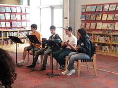 Ukulele Ensemble in the Children's Room