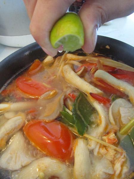 Thai lime juice