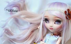 Daphire - Pullip Custom (Yuffie Kisaragi) Tags: doll pullip papin custom akai arashi daphire obitsu rewigged rechipped