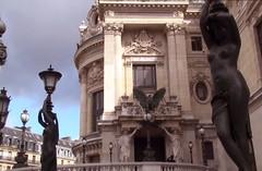 Paris Architecture (Az-Jean) Tags: paris france architecture building statue streetlantern cloud windows art palaisgarnier column opera