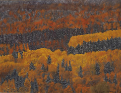 Gaspe Peninsula -- Quebec (podicep) Tags: gaspepeninsula trees softpastels sennelierpastels