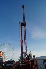 DSC02247 (A Parton Photography) Tags: fairground rides spinning longexposure miltonkeynes fireworks bonfire november cold