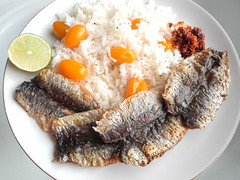 Lunch (droolworthy) Tags: sardines tomatorice sambal spicy