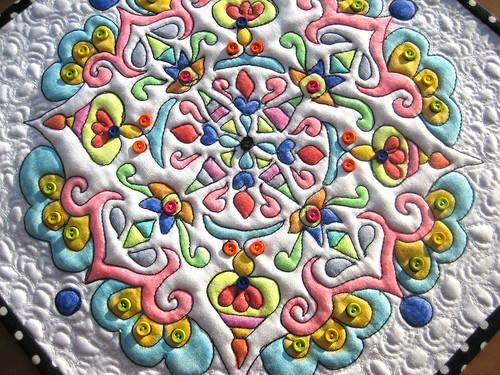 Detail Mandala Quilt #2