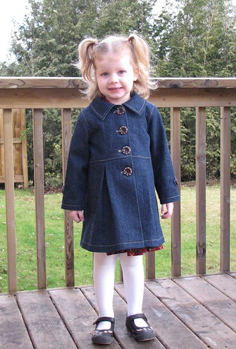 Ottobre 1/2010 Denim Coat