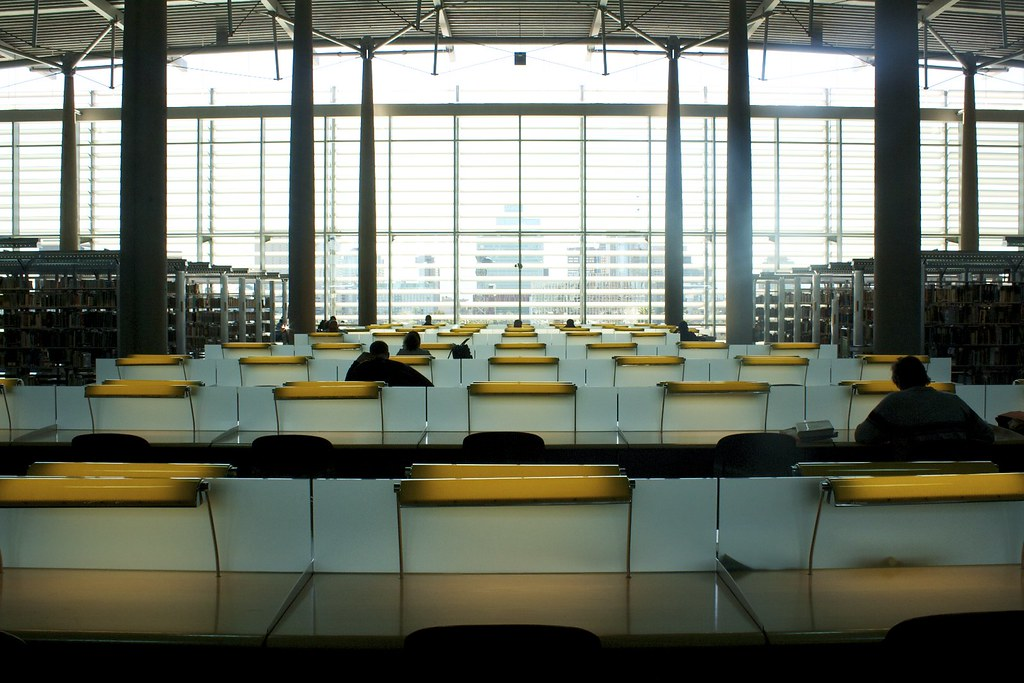 5th floor reading room