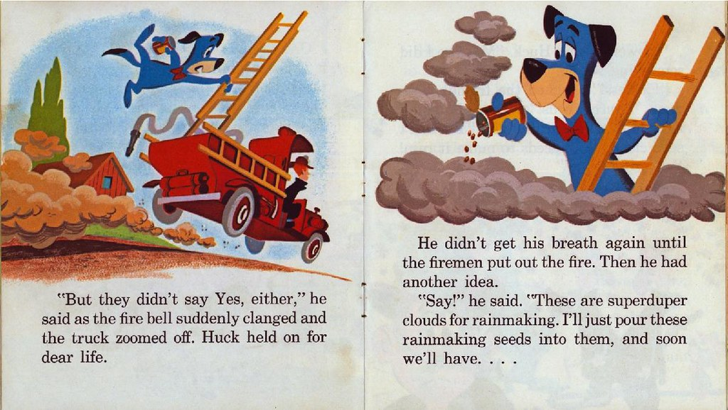 Huckleberry Hound the Rainmaker008